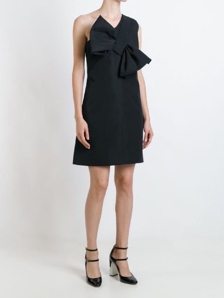 Victoria Beckham Twist Bow Dress-THE BOBBY BOGA