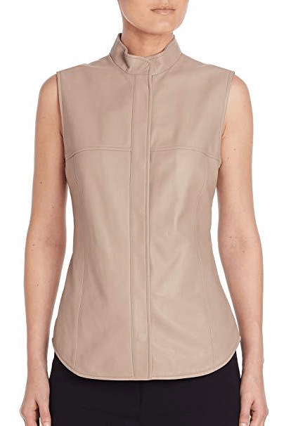 Ussel Leather Vest - The Bobby Boga