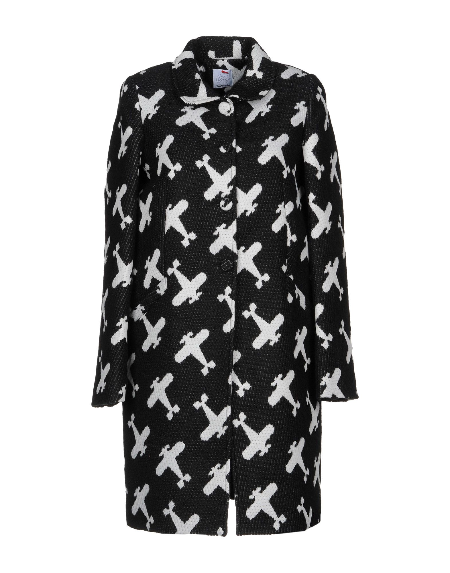 Aereo Print Wool Coat - The Bobby Boga