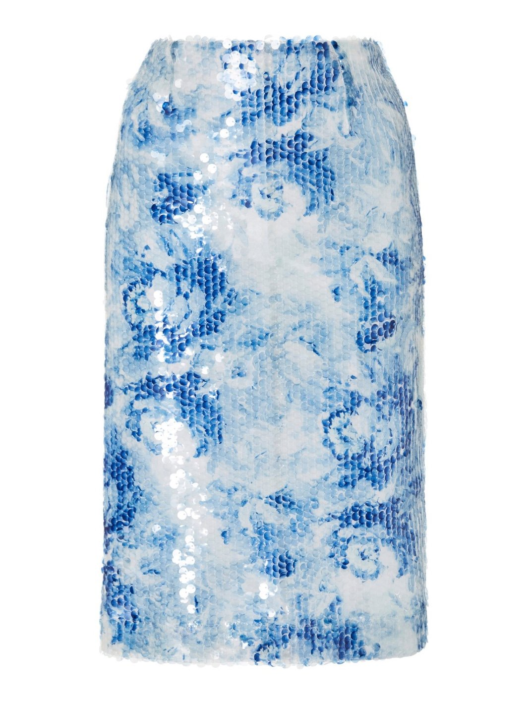 Araka Sequins Pencil Skirt - The Bobby Boga