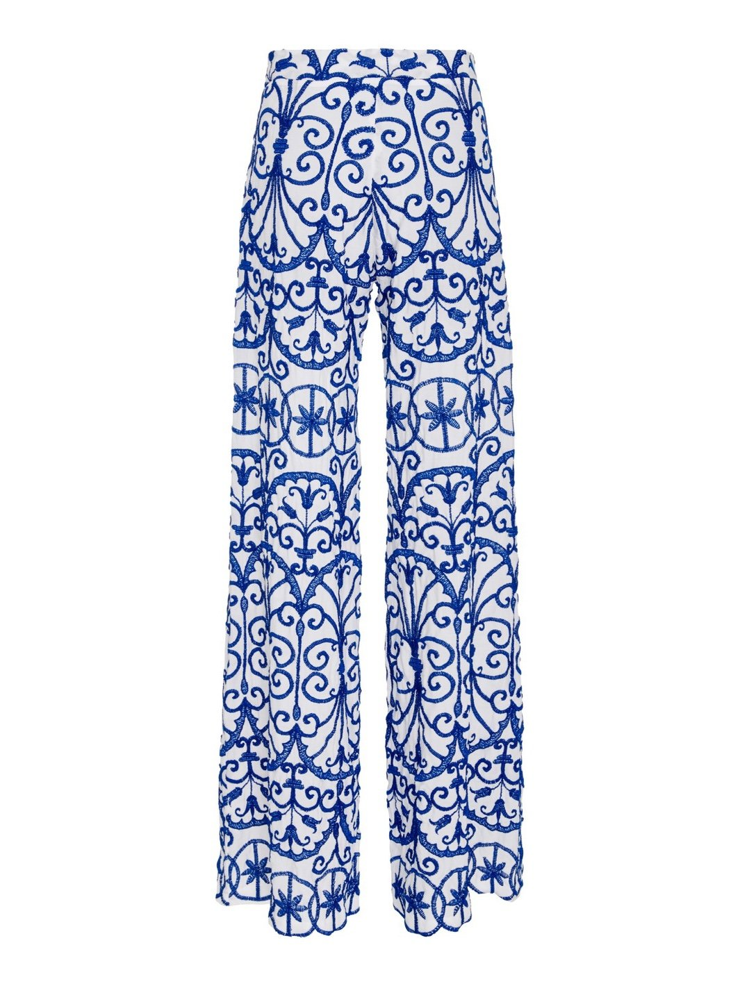 Amelianna Embroidered Pant - The Bobby Boga
