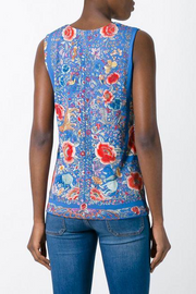 Enchanted Garden Printed Top