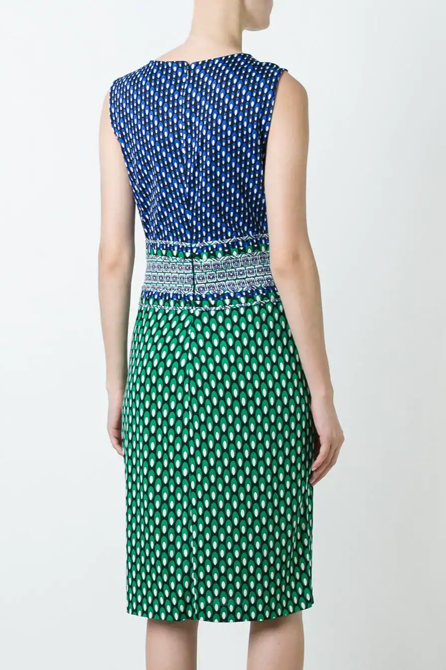 Evita Printed Dress - The Bobby Boga