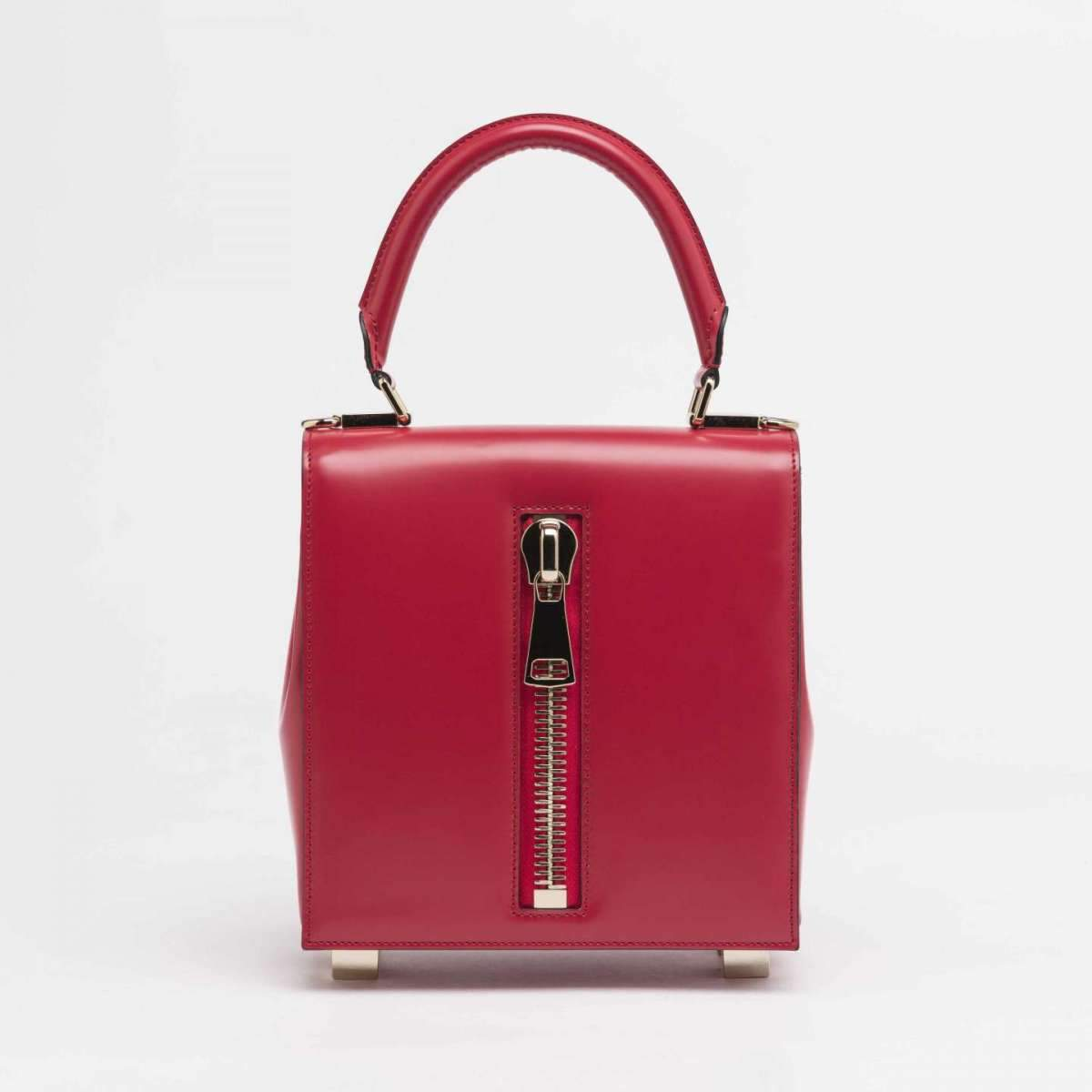 LK Memphis Leather Red Maxi Bag - The Bobby Boga
