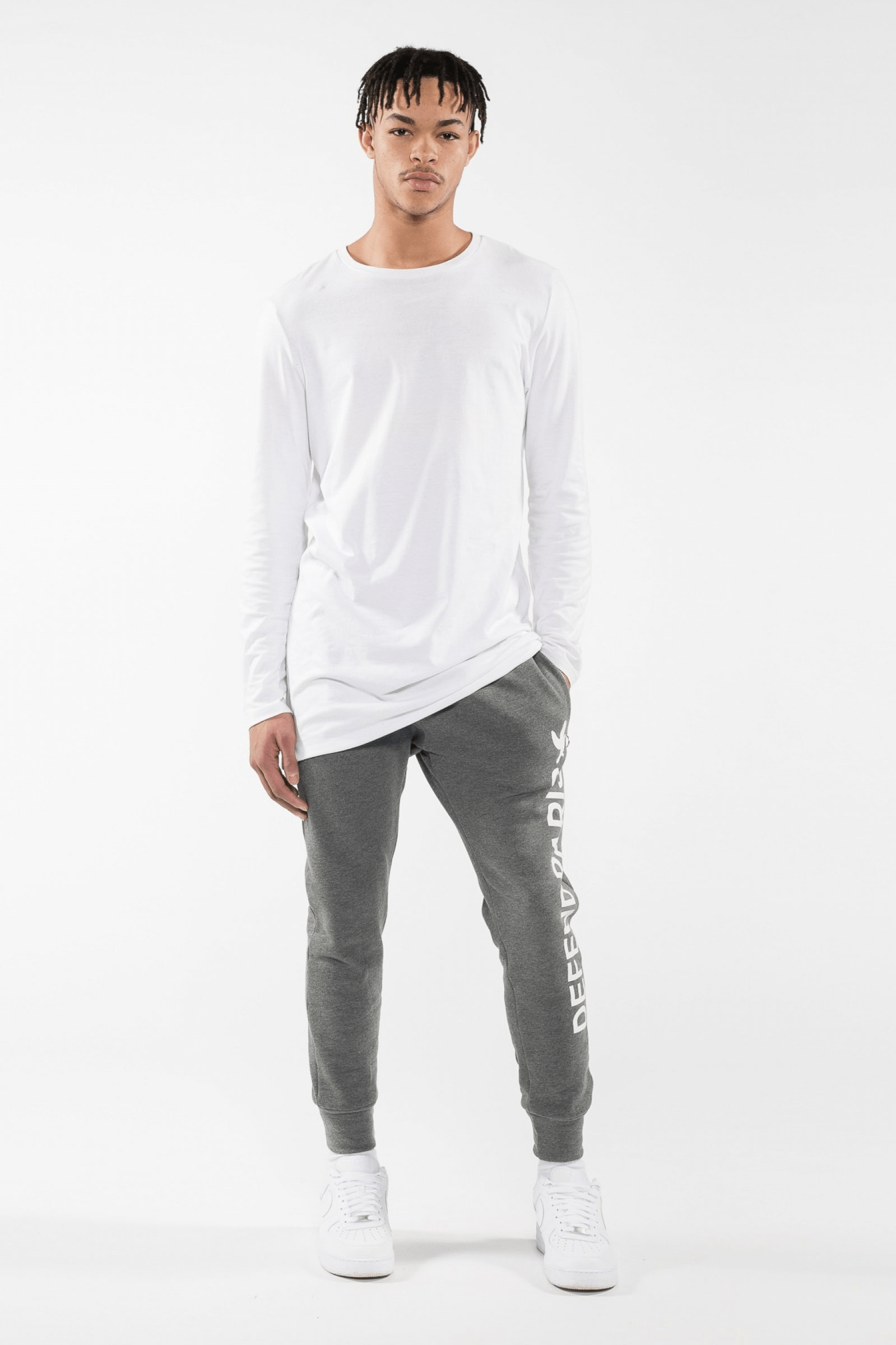 Cleef Pants Grey - The Bobby Boga