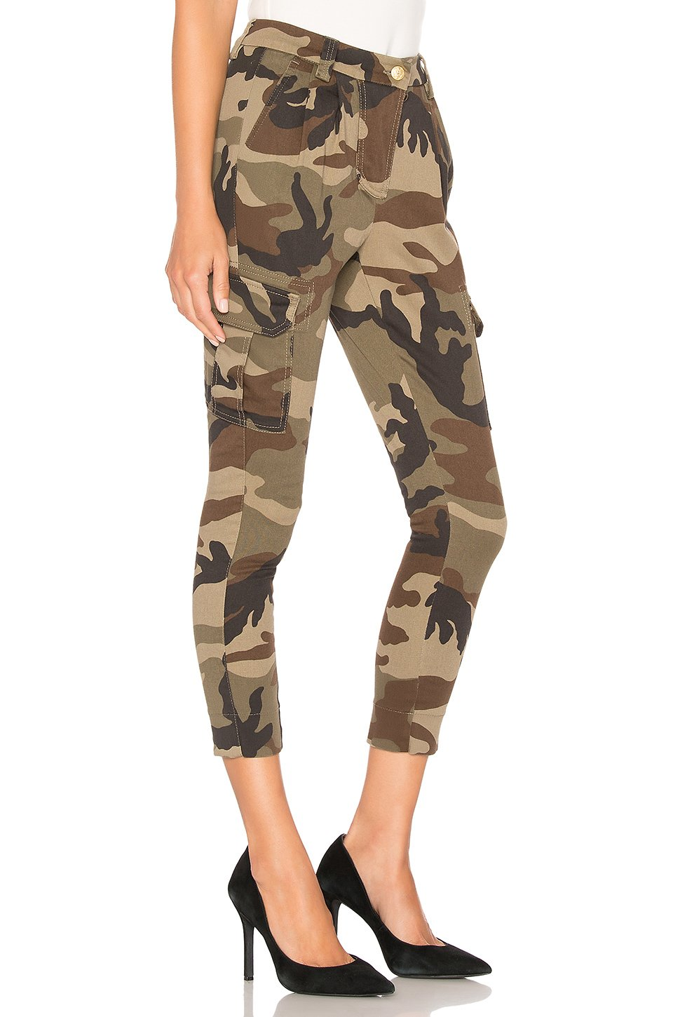 Cargo Camouflage Trousers - The Bobby Boga