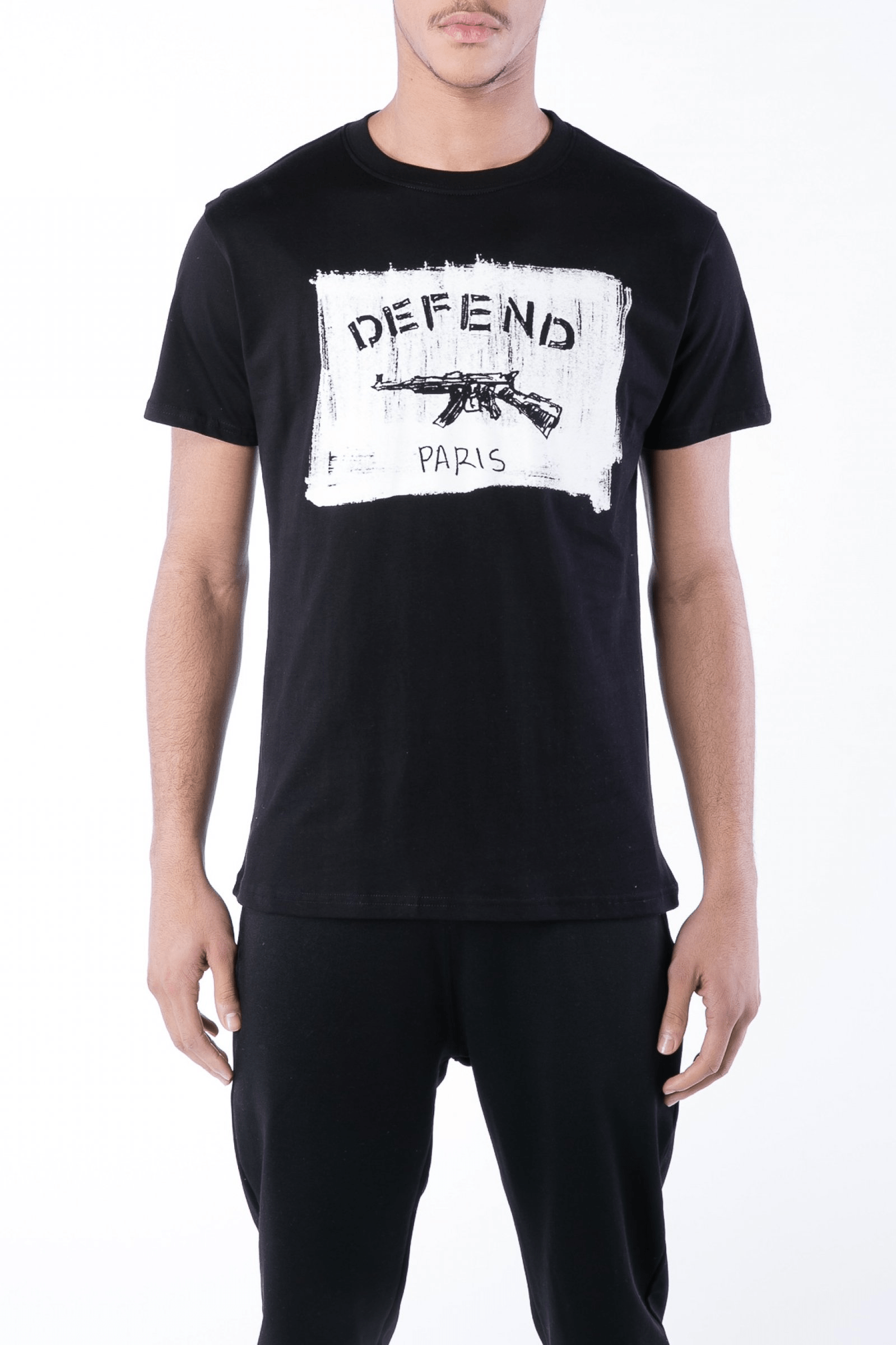 Bendigo Cotton Tee Black - The Bobby Boga