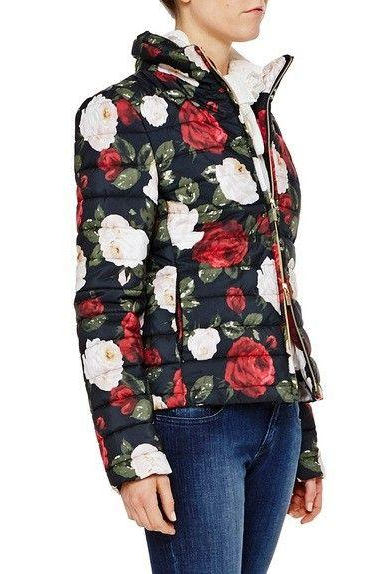 Floral Printed Quilted Jacket - The Bobby Boga