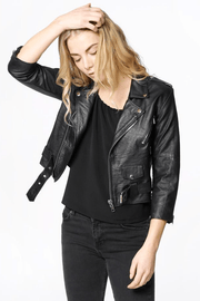 Crop BikerJacket
