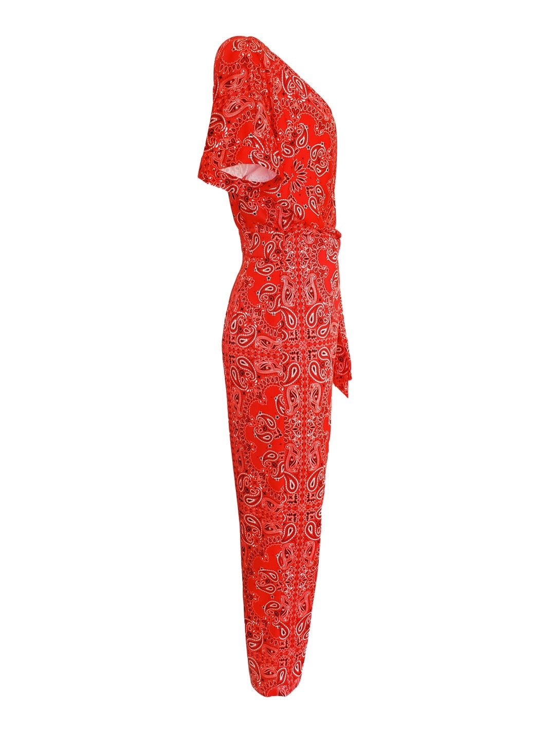 Bandanna Printed Jumpsuit - The Bobby Boga
