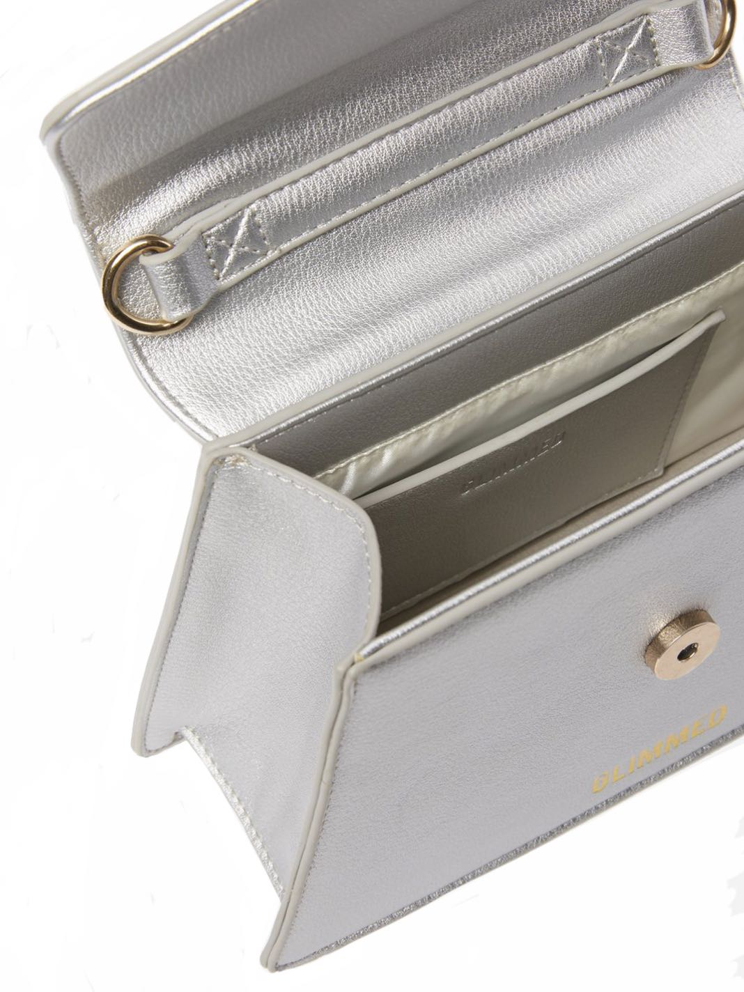 Mini Layla Metal Silver Bag - The Bobby Boga