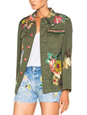 History Repeats-Floral Embroidery Shirt-Jacket-THE BOBBY BOGA