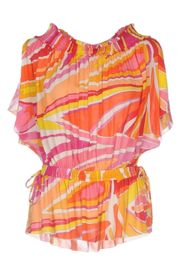 Emilio Pucci Off Shoulder beach top-THE BOBBY BOGA
