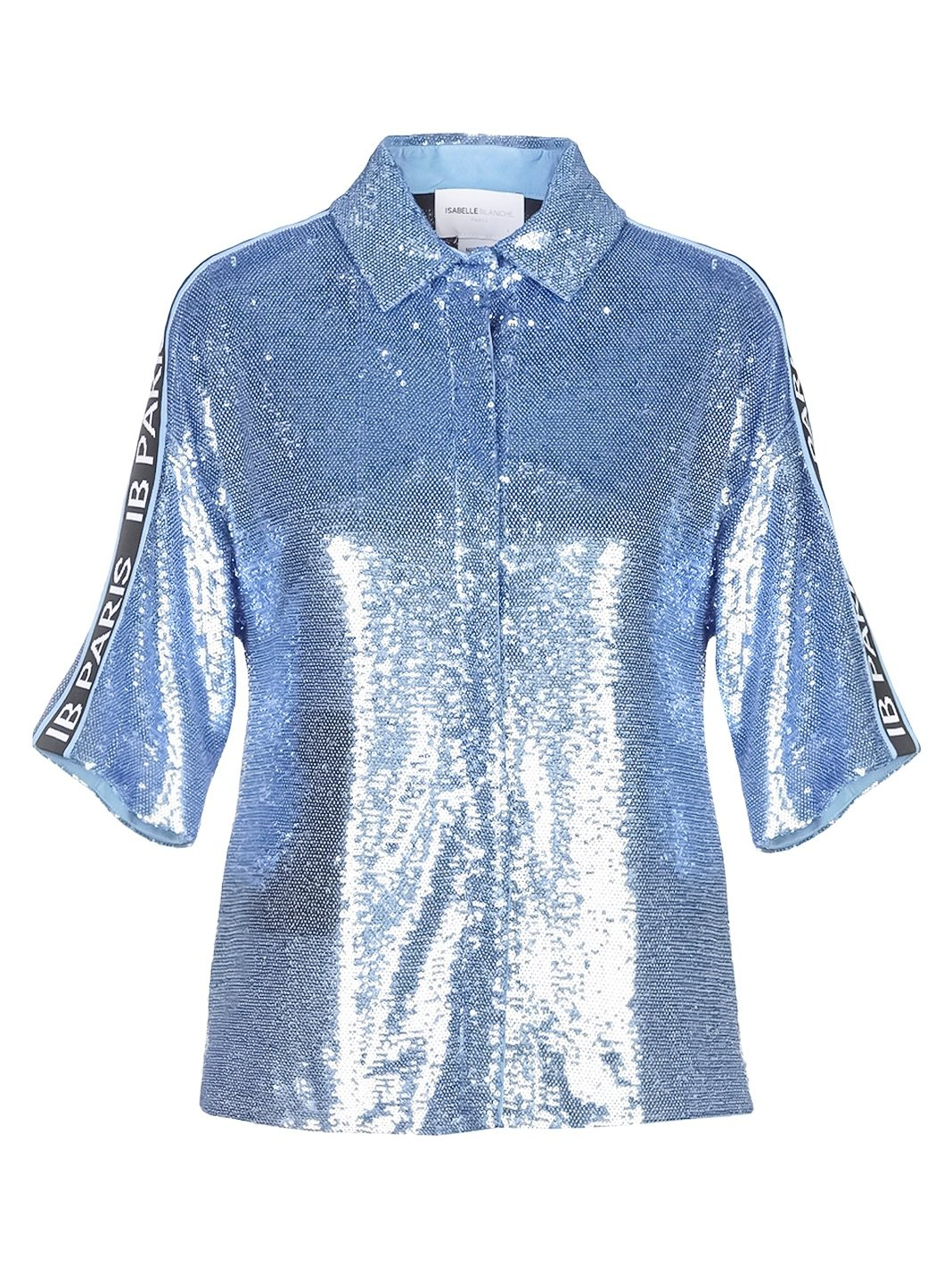 Side-Stripe Paris Sequins Shirt - The Bobby Boga