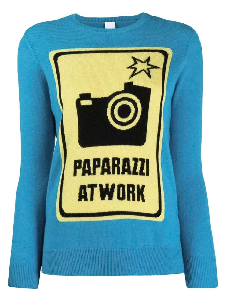 Paparazzi Wool-Blend Pullover-THE BOBBY BOGA