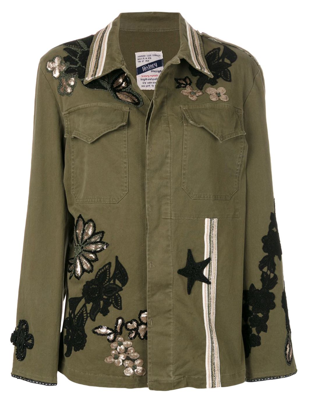 Embroidered Shirt-Jacket - The Bobby Boga