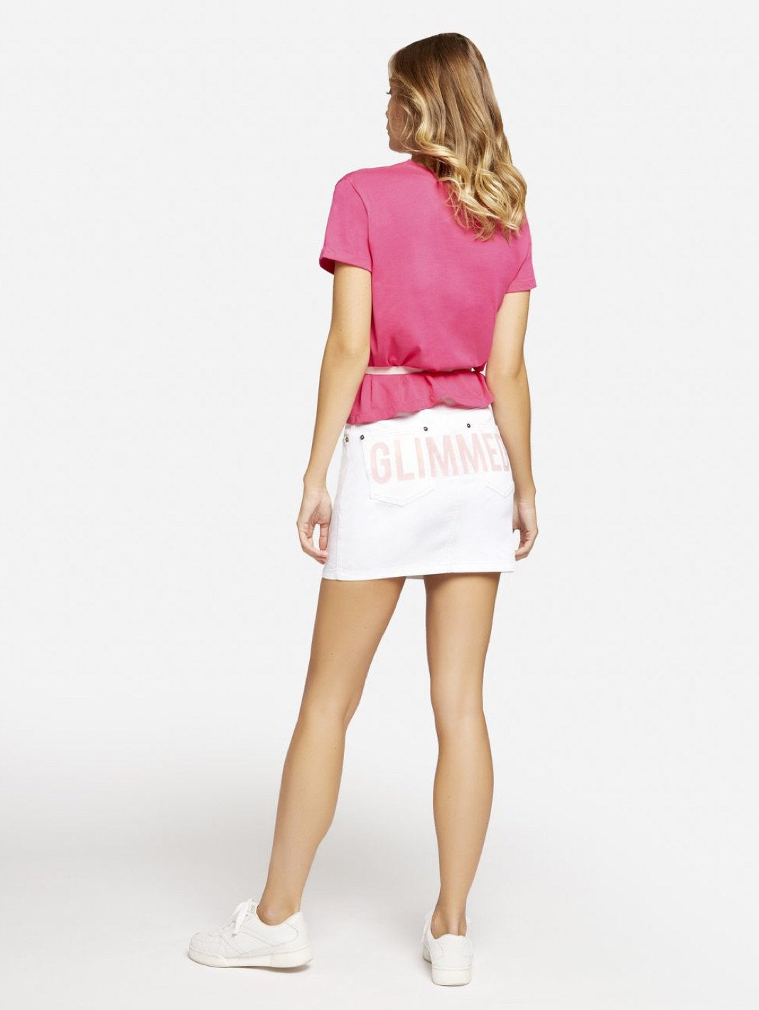 Lips Belted Tee - The Bobby Boga
