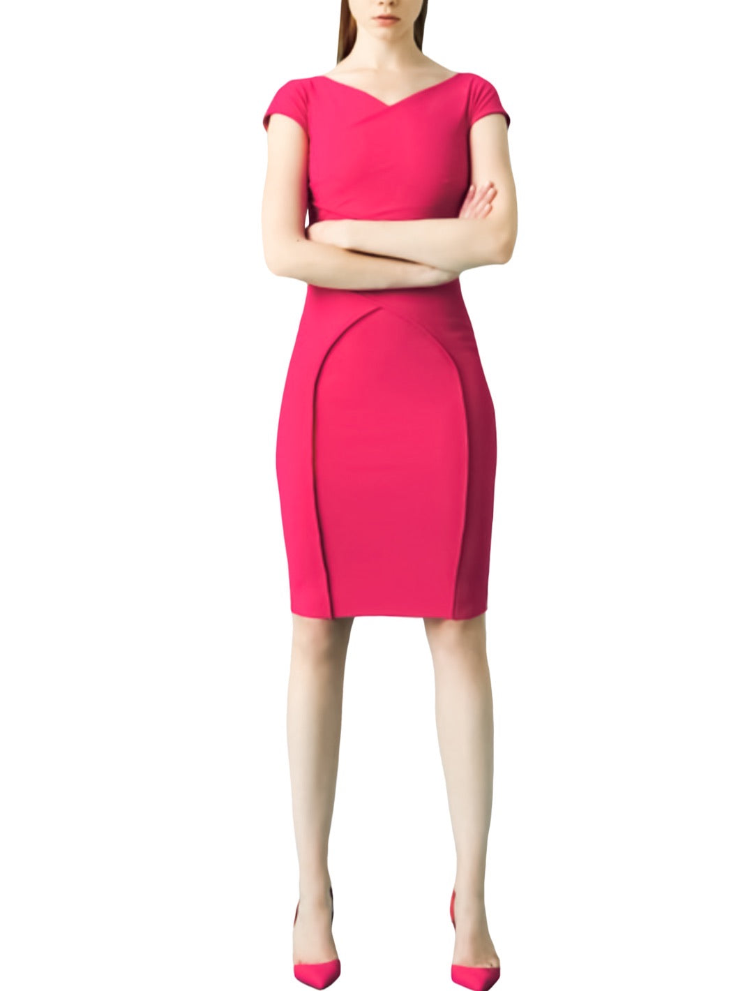 Merissa Cap-Sleeve Sheath Dress - The Bobby Boga