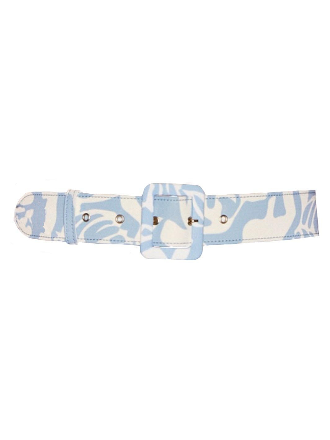 Floral Print Belt - The Bobby Boga