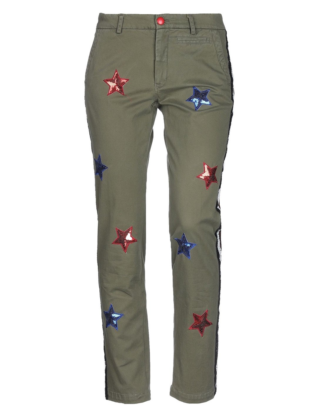 Stars Sequins Trousers - The Bobby Boga