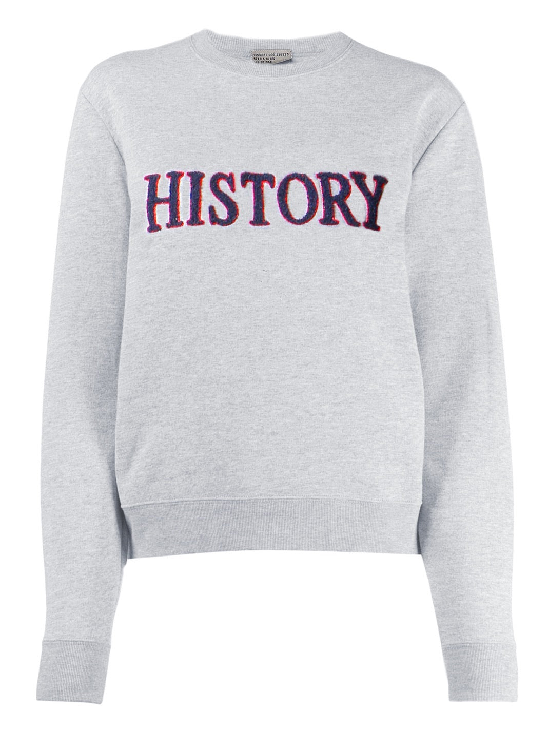 Embroidered Logo Cotton Sweatshirt - The Bobby Boga