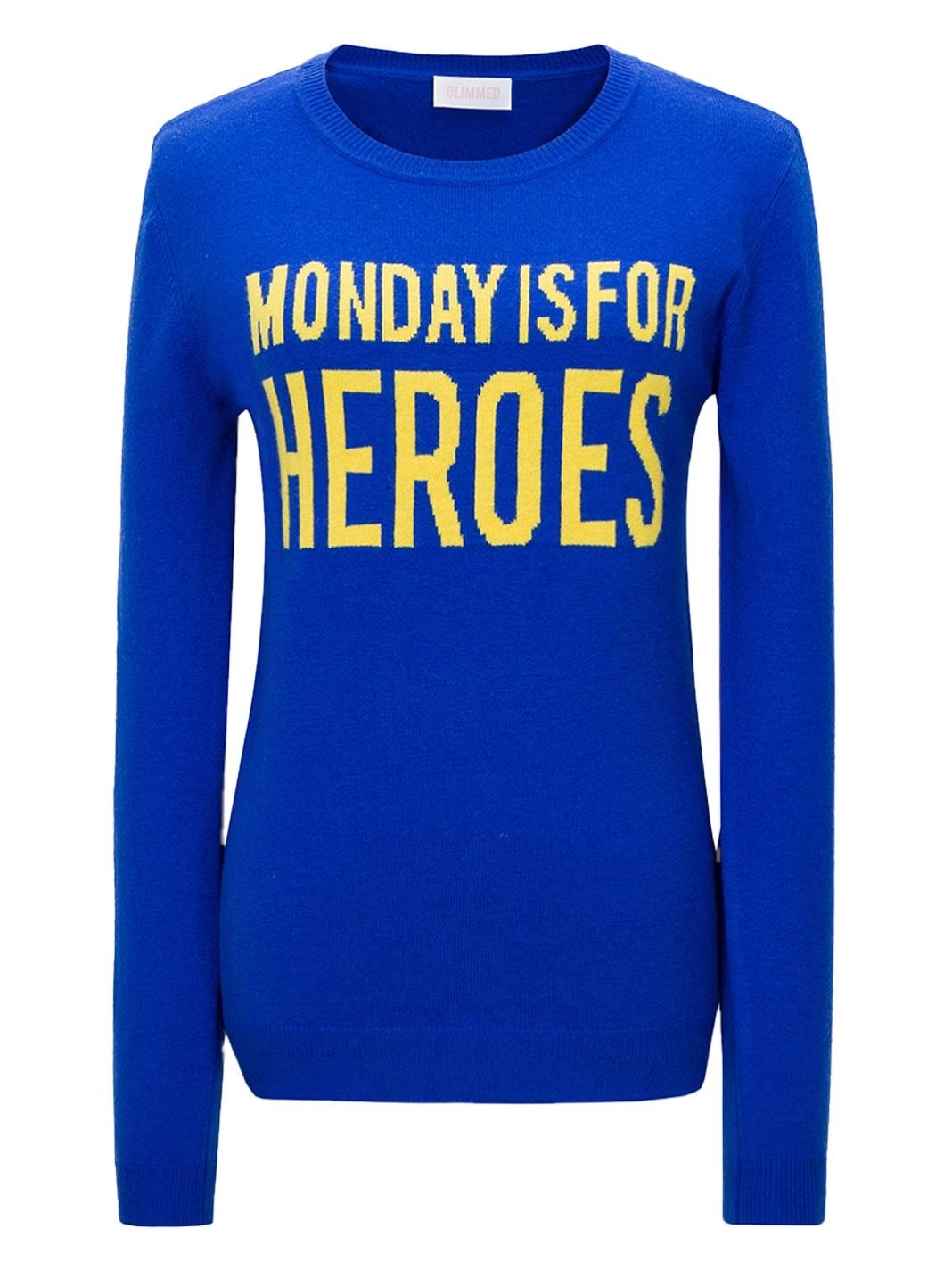 Monday Is For Heroes Wool Pullover - The Bobby Boga