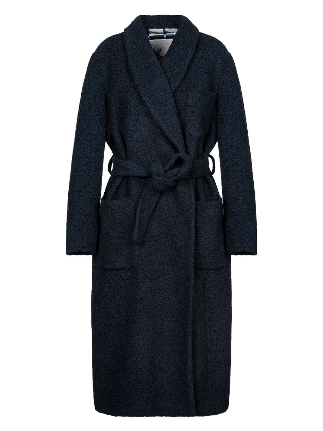 Delphos Wool Coat - The Bobby Boga