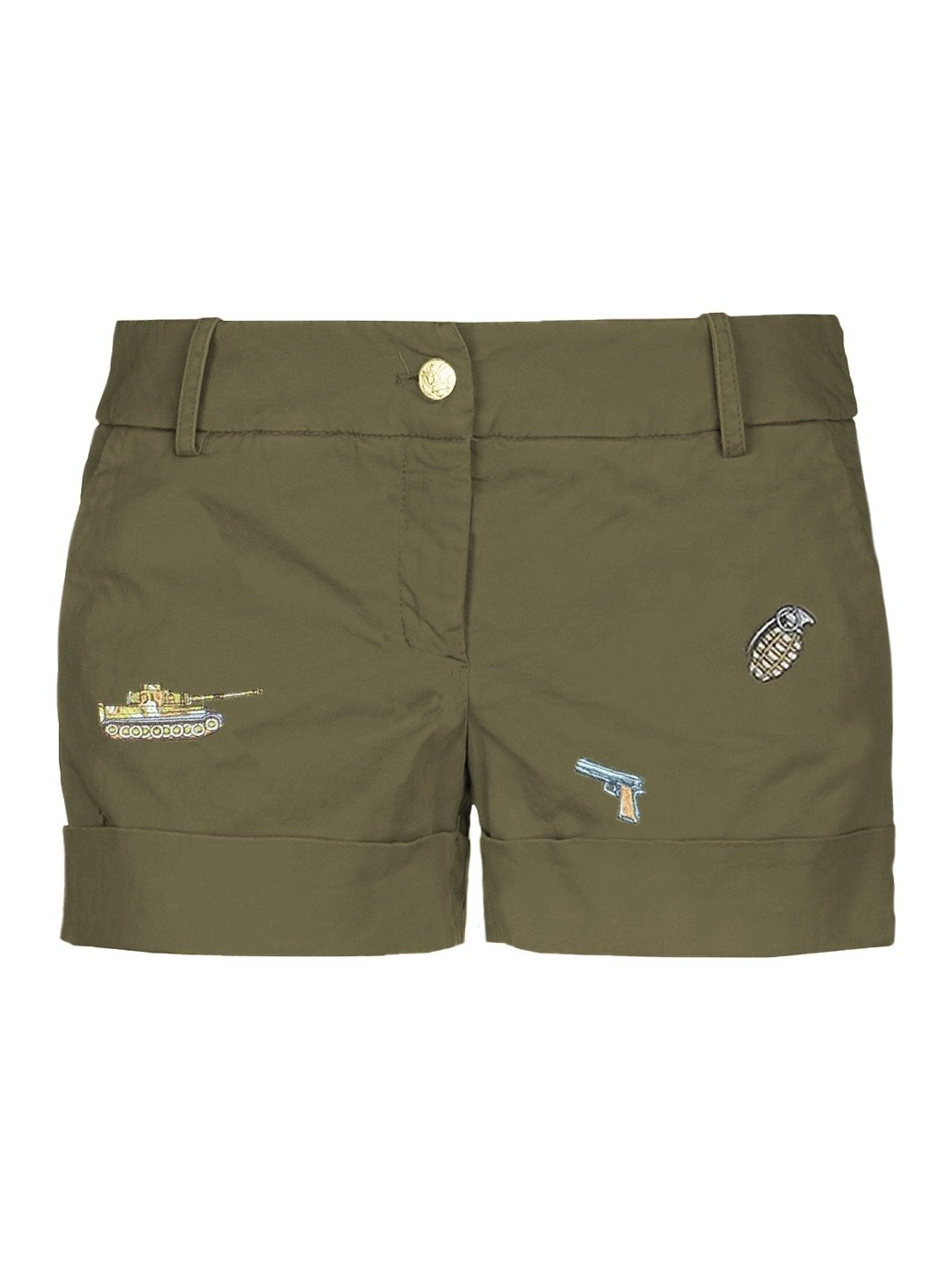 Army-Style Shorts - The Bobby Boga