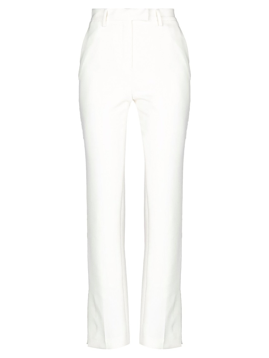 Stars Side-Seam Casual Pants Ivory - The Bobby Boga