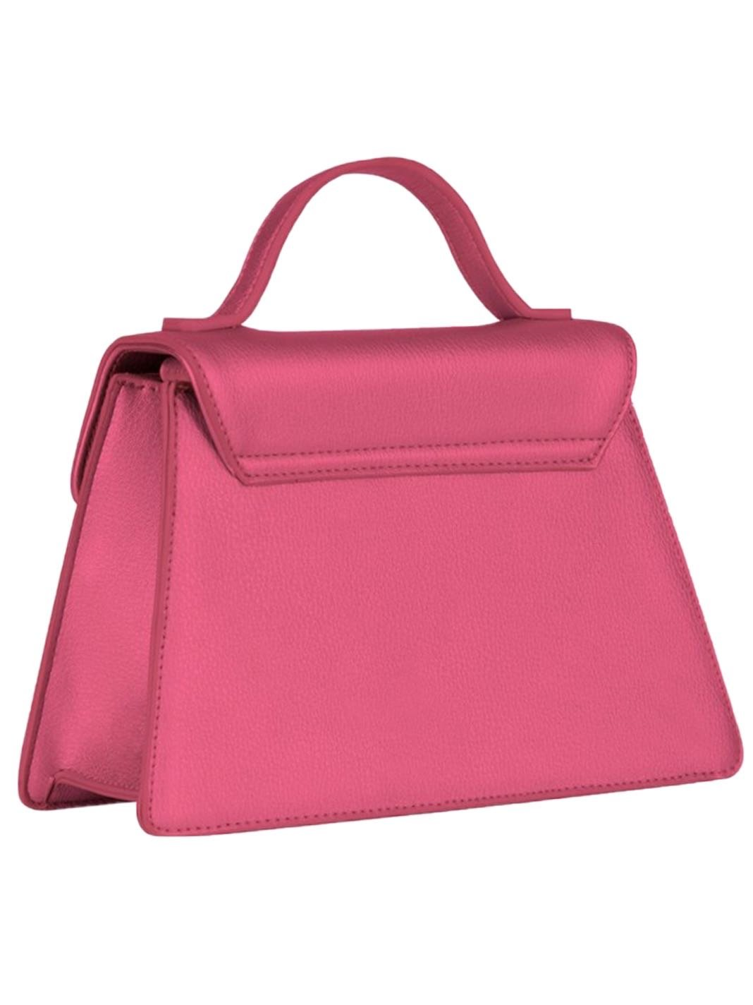 Mini Layla Bag Metal Fuchsia - The Bobby Boga