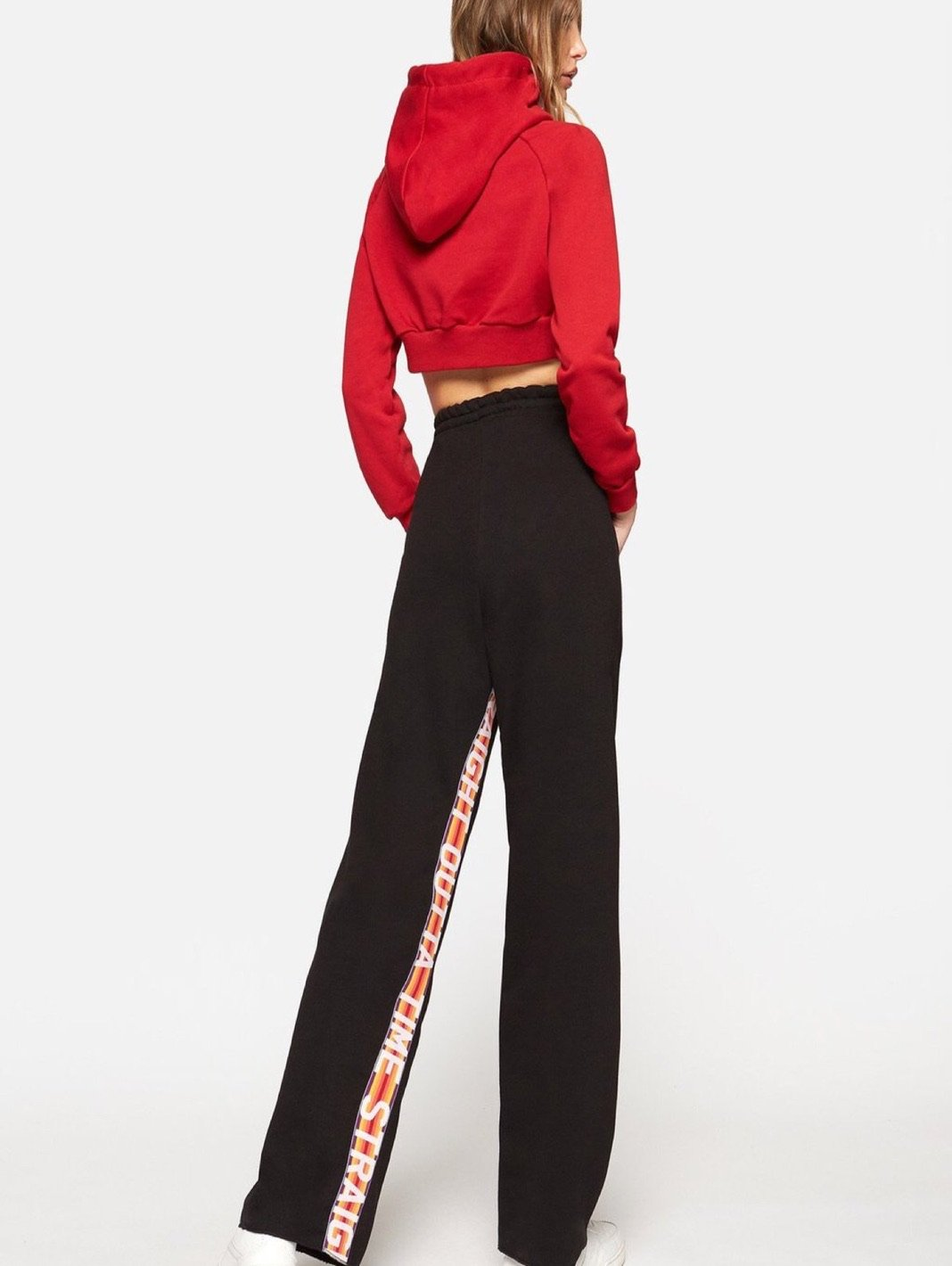 Straight Outta Time Palazzo Pants - The Bobby Boga