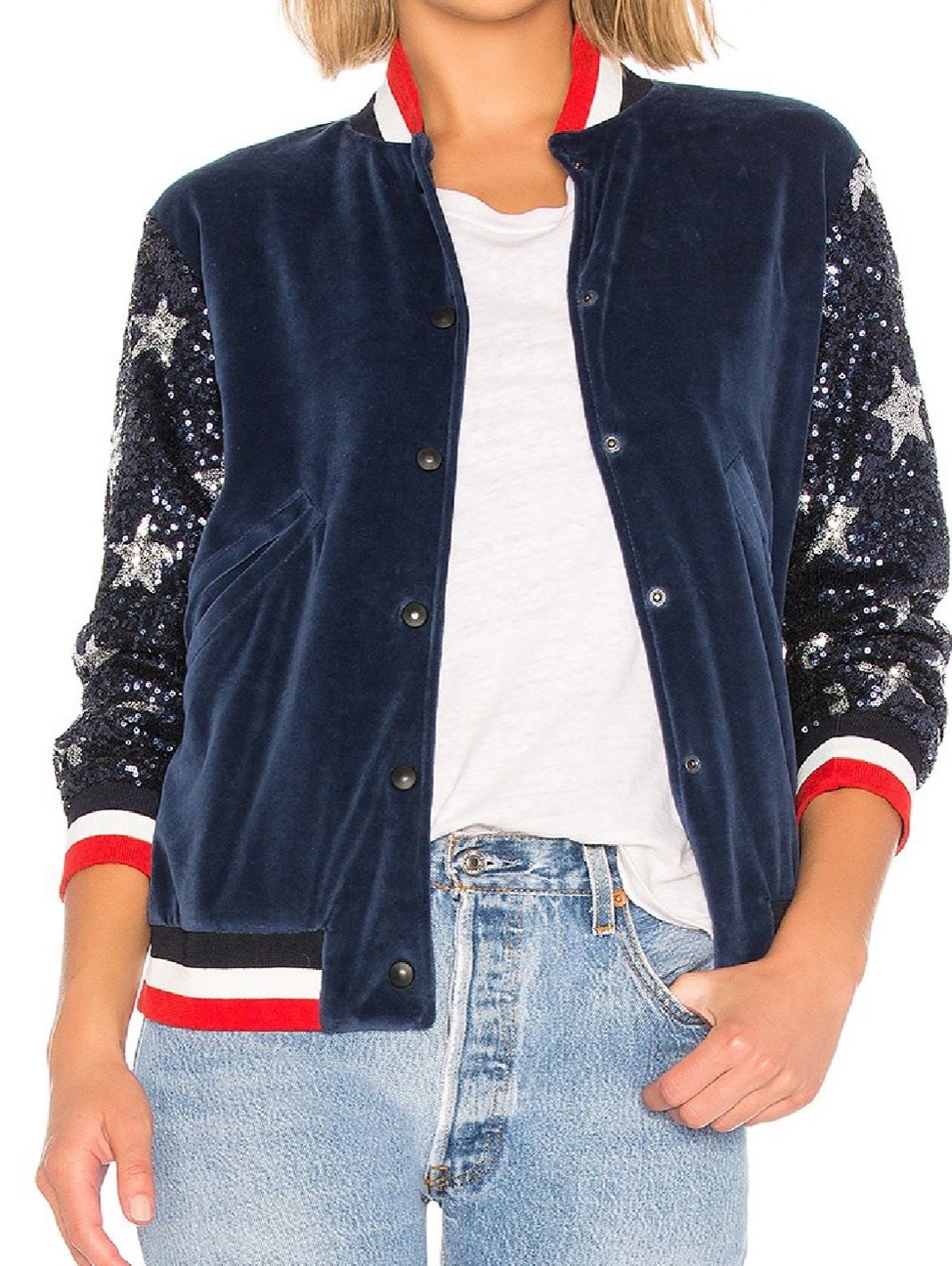 Bomber Sequin Stars - The Bobby Boga