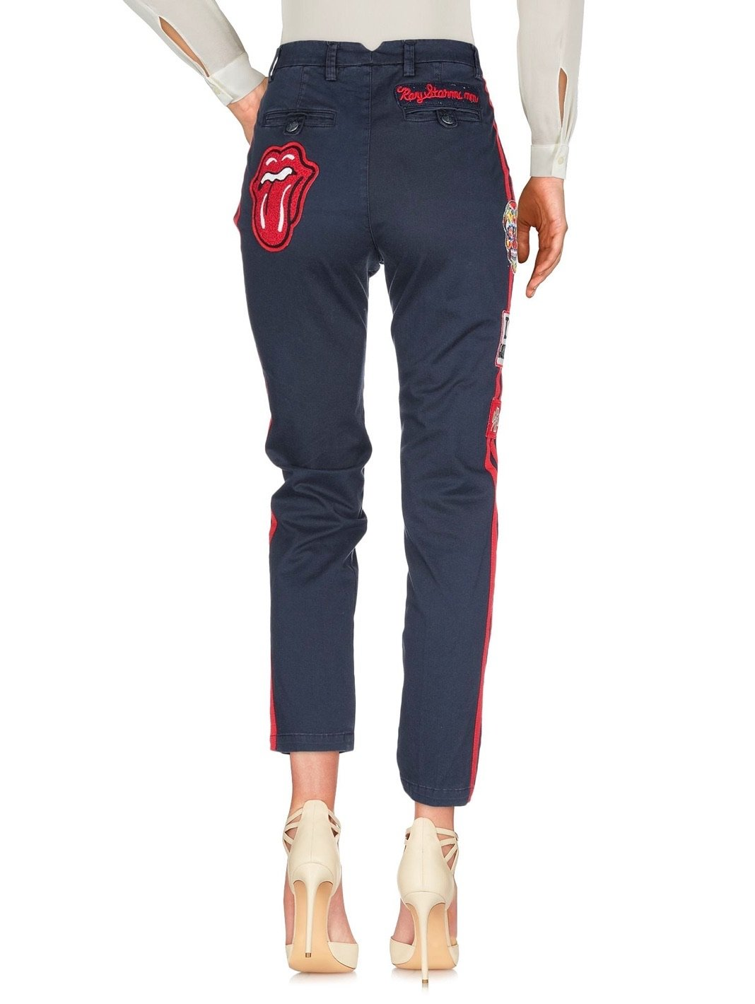 Side Stripes Trousers - The Bobby Boga