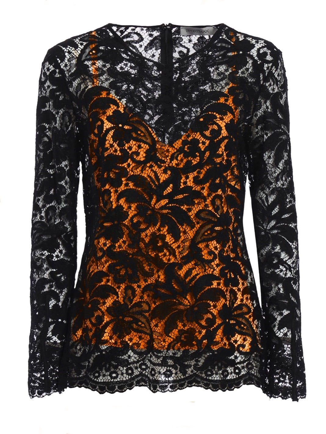 Odessa Lace Cotton-Blend Blouse - The Bobby Boga