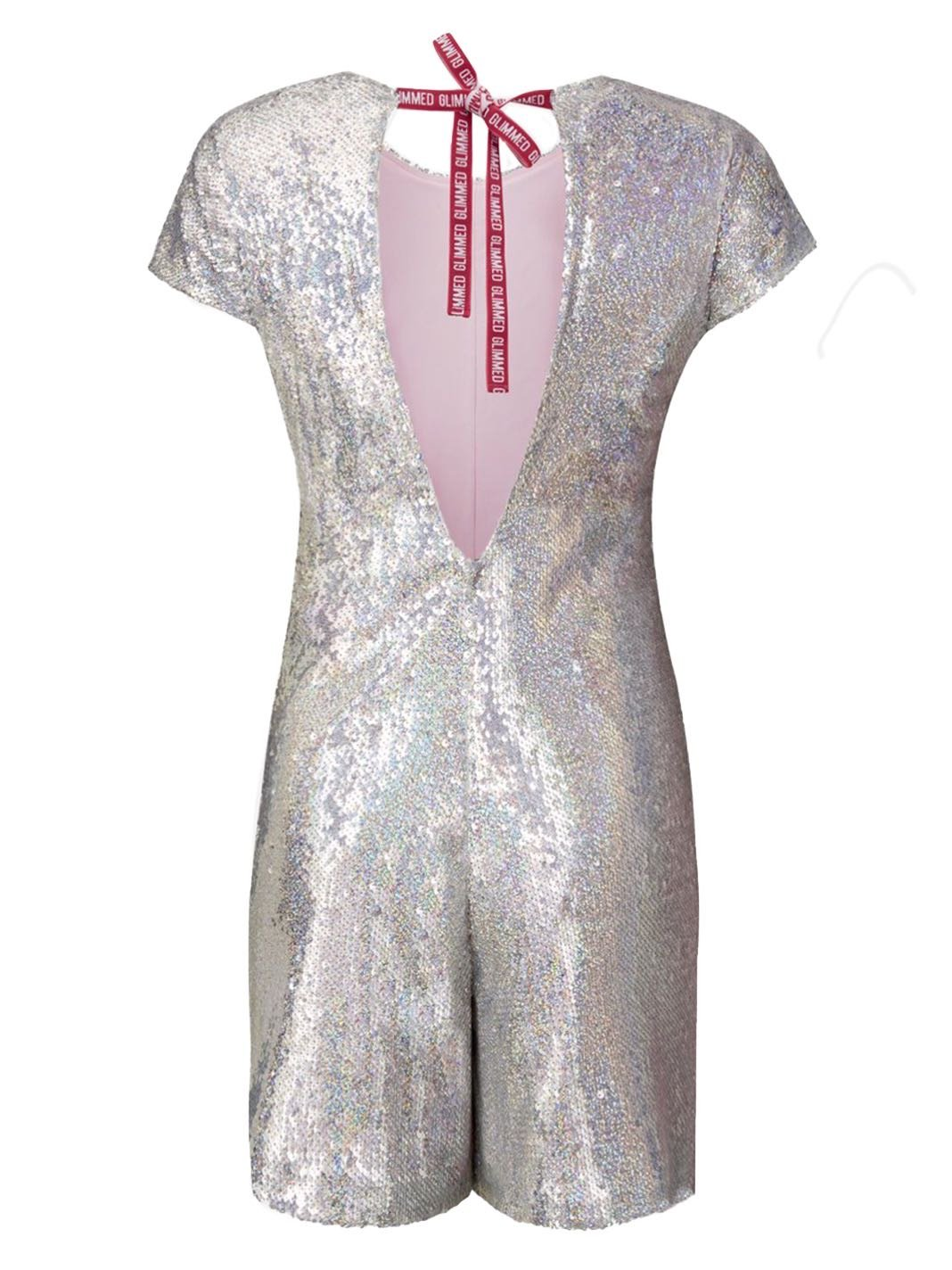 Sequins Mini Jumpsuit - The Bobby Boga