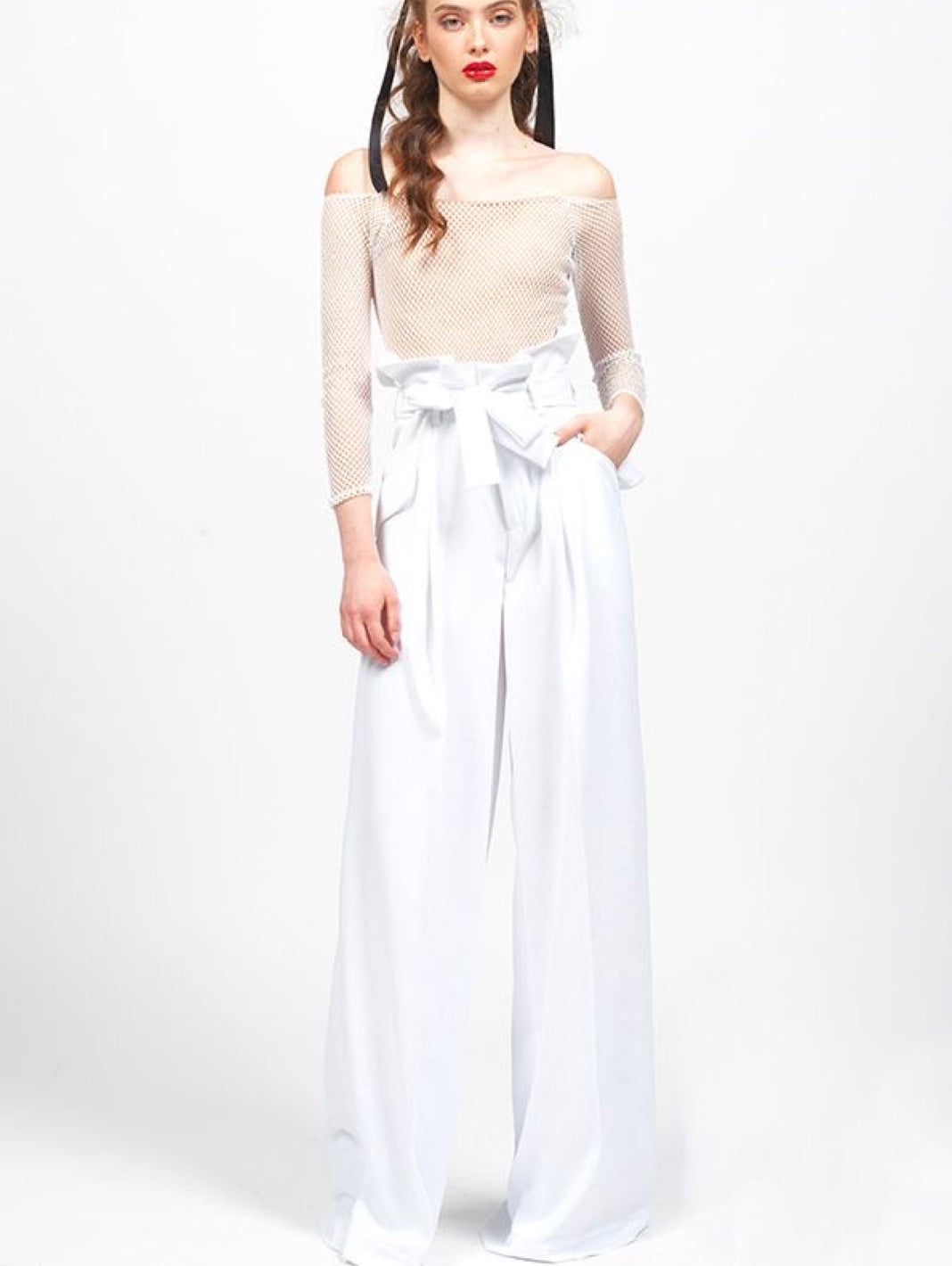 Highwaist Palazzo Trousers - The Bobby Boga