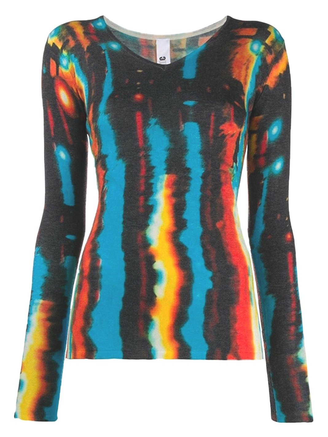 Rain Tie-Dye Fitted Knit Top - The Bobby Boga