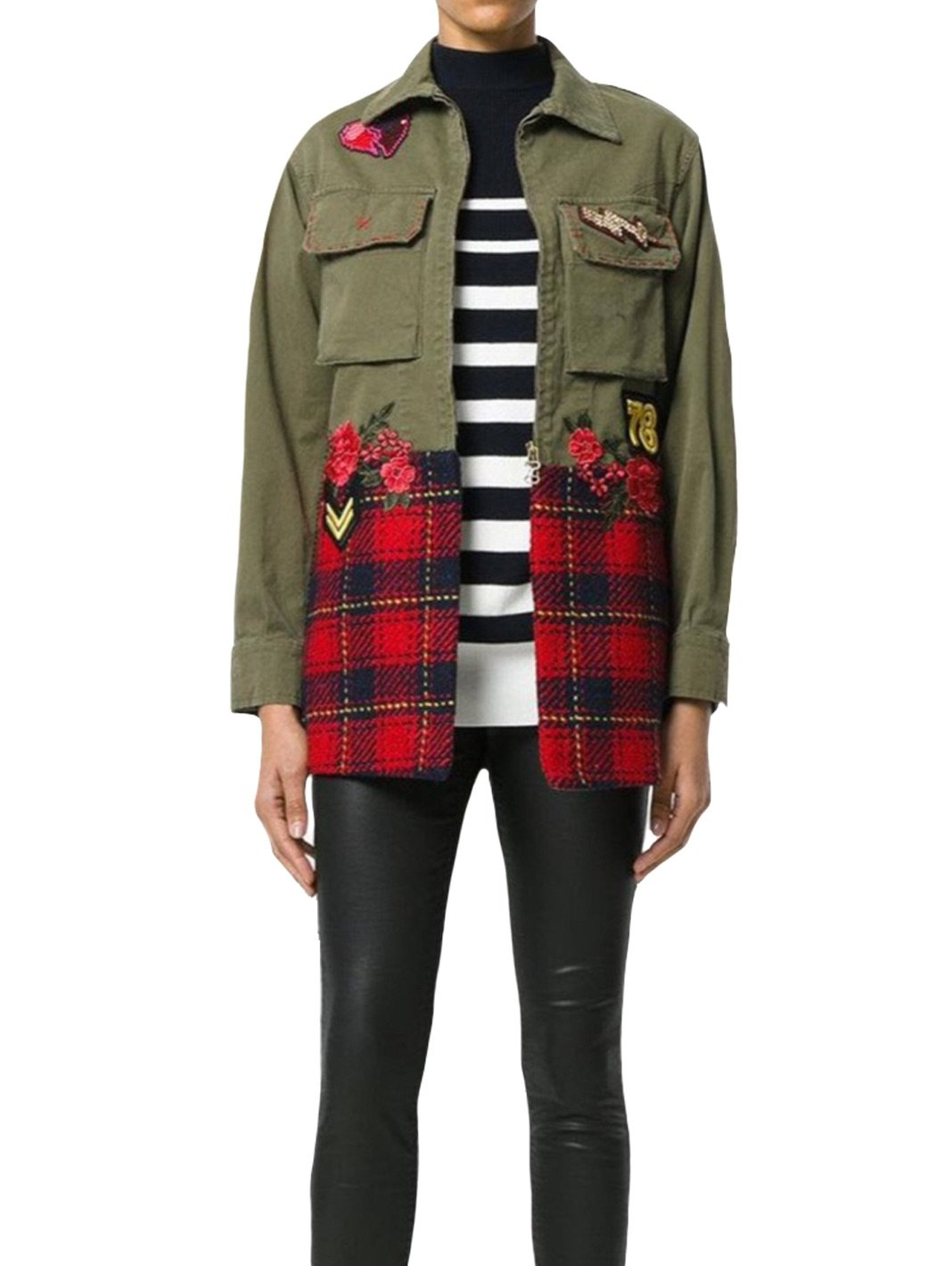 Military Wool Parka - The Bobby Boga