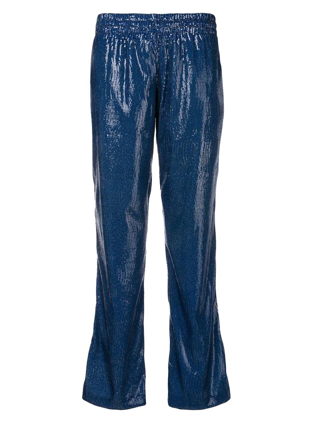 Love Sequins Straight Patch Trousers - The Bobby Boga