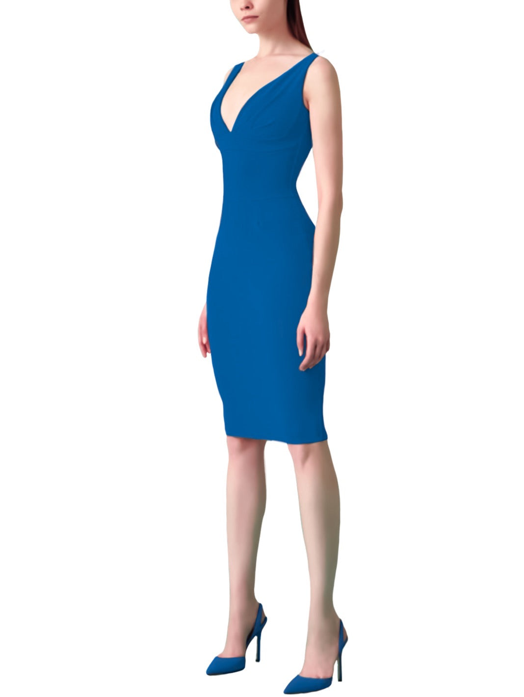 Rory Sleeveless Fitted Dress - The Bobby Boga