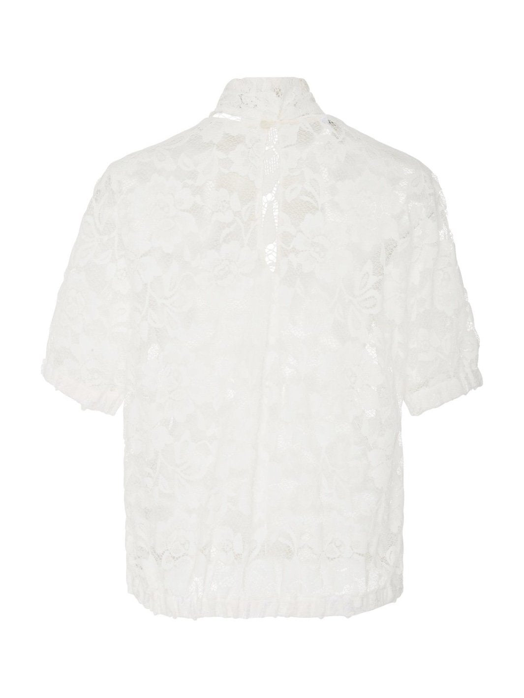 Stefy Lace White Top - The Bobby Boga