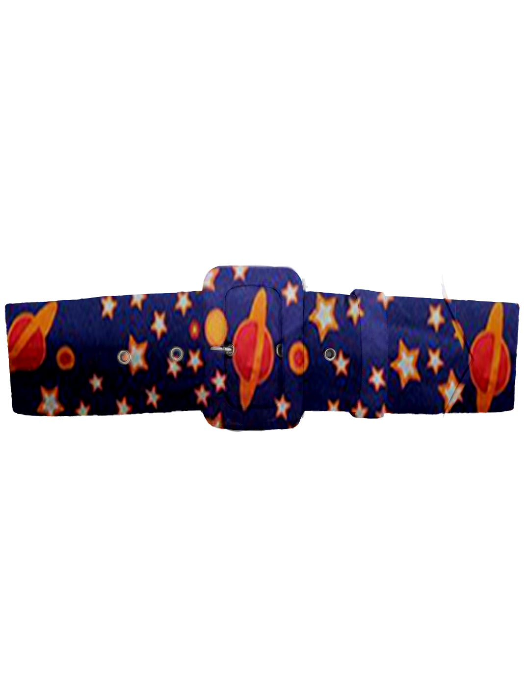 Space-Print Cotton Belt - The Bobby Boga