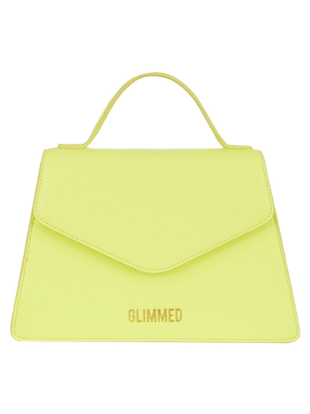 Mini Layla Bag Fluo Yellow - The Bobby Boga