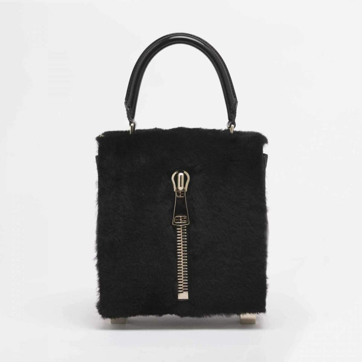 LK Memphis Leather Black Maxi Bag