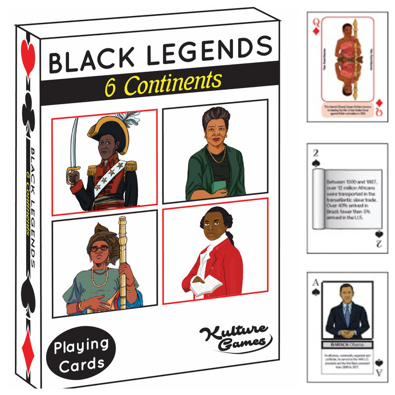 Playing Cards: Black Legends