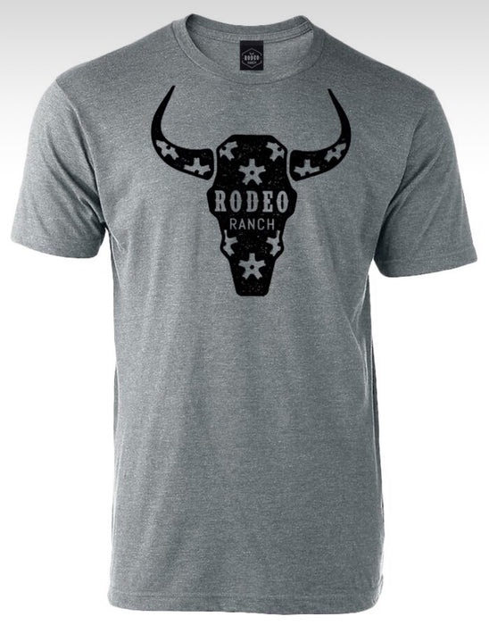 PLAYERA RODEO RANCH TORO GRIS