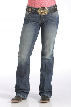 PANTALON CINCH-WOMENS ADA RELAXED FIT - MEDIUM STONEWASH