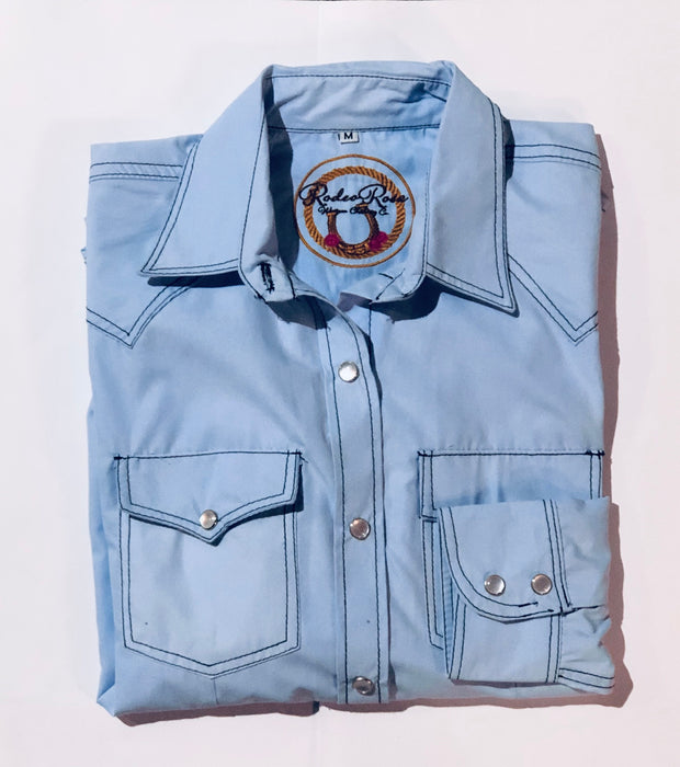 CAMISA RODEOROSE- LIGHT DENIM