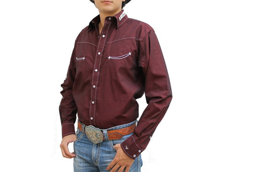 Camisa Resistol Ranch Marketing Leon
