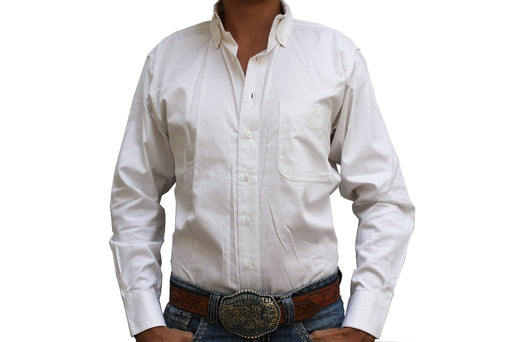 Camisa Resistol Ranch White